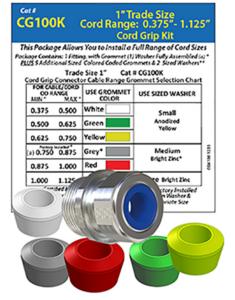 cord grip kits