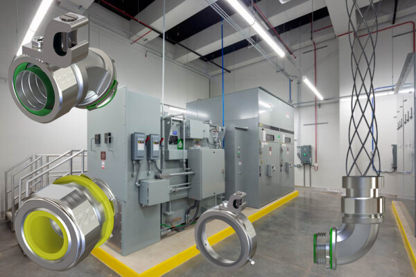 electrical fittings for data centers