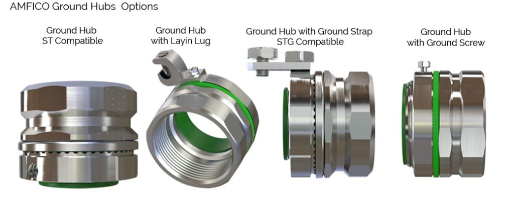 Ground Hubs Steel USA