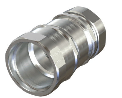 Flex Adapter Set Screw .50-4.0 Steel Made in USA