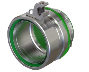 Liquid Tight fitting with ground lug STRBGL USA American Fittings